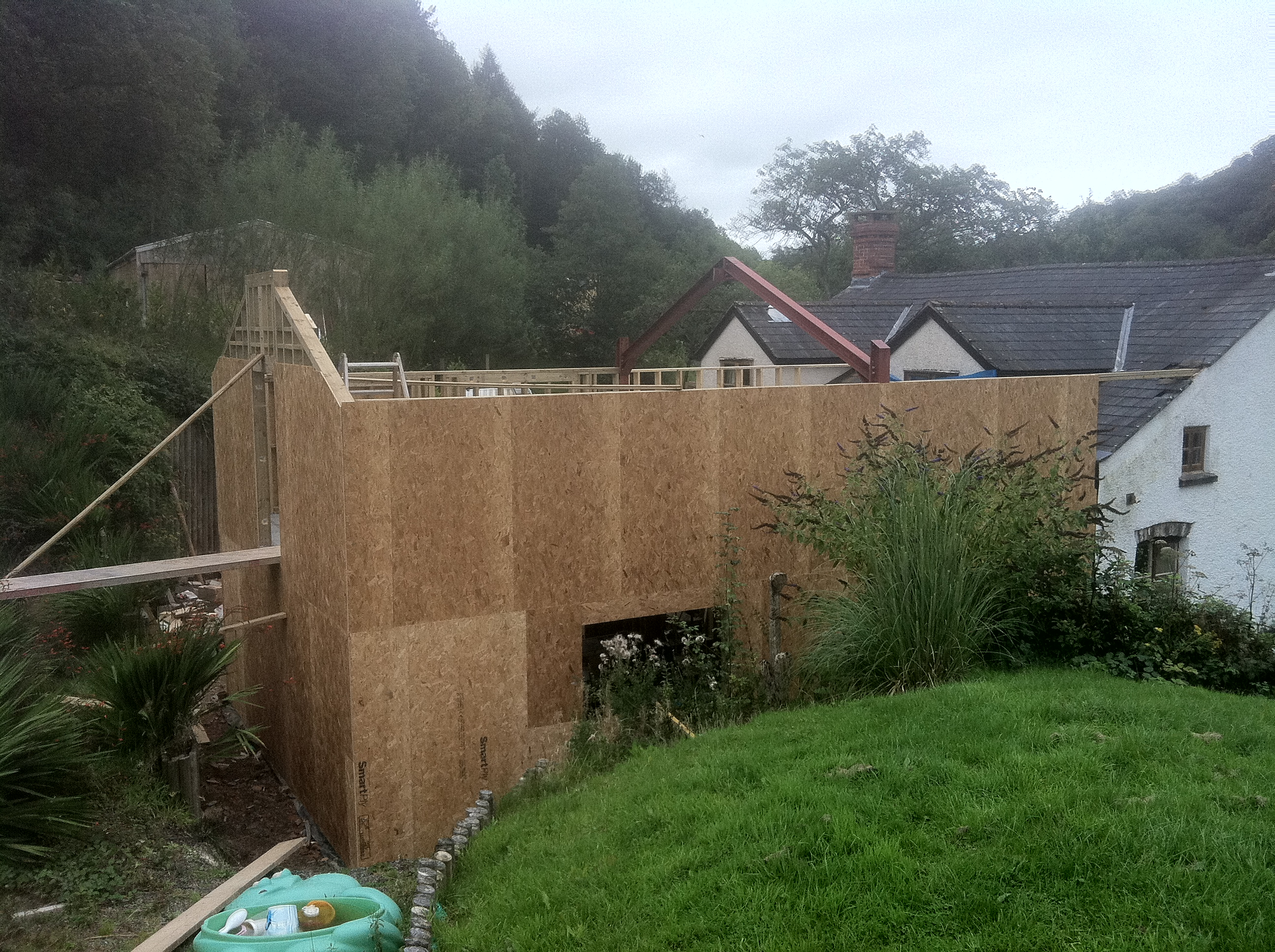 House Extension - Timber Frame Construction