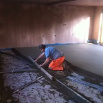 Under Floor Heating Screed