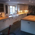 Kitchen Tiled Floor Complete